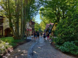 Path though Grimms' Enchanted Forest in Europa Park